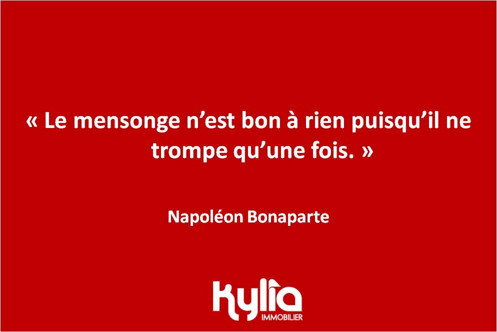 Citation 73 – Napoléon Bonaparte