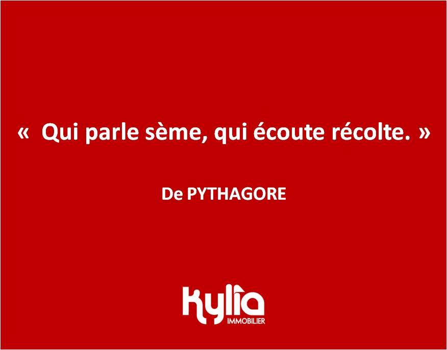 Citation 40 – PYTHAGORE