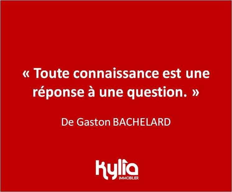 Citation 1 Gaston BACHELARD