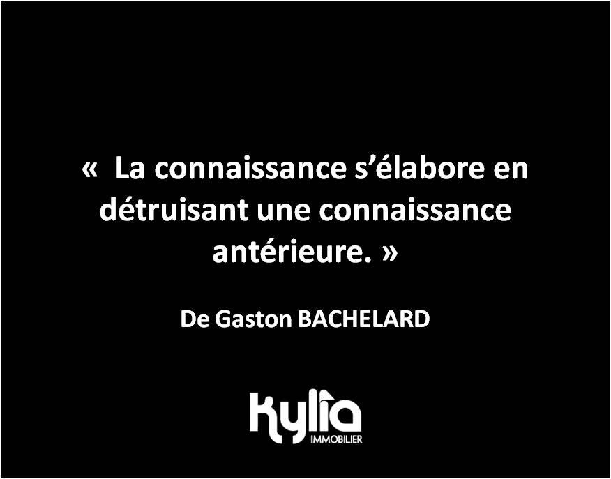 Citation 26 – Gaston BACHELARD