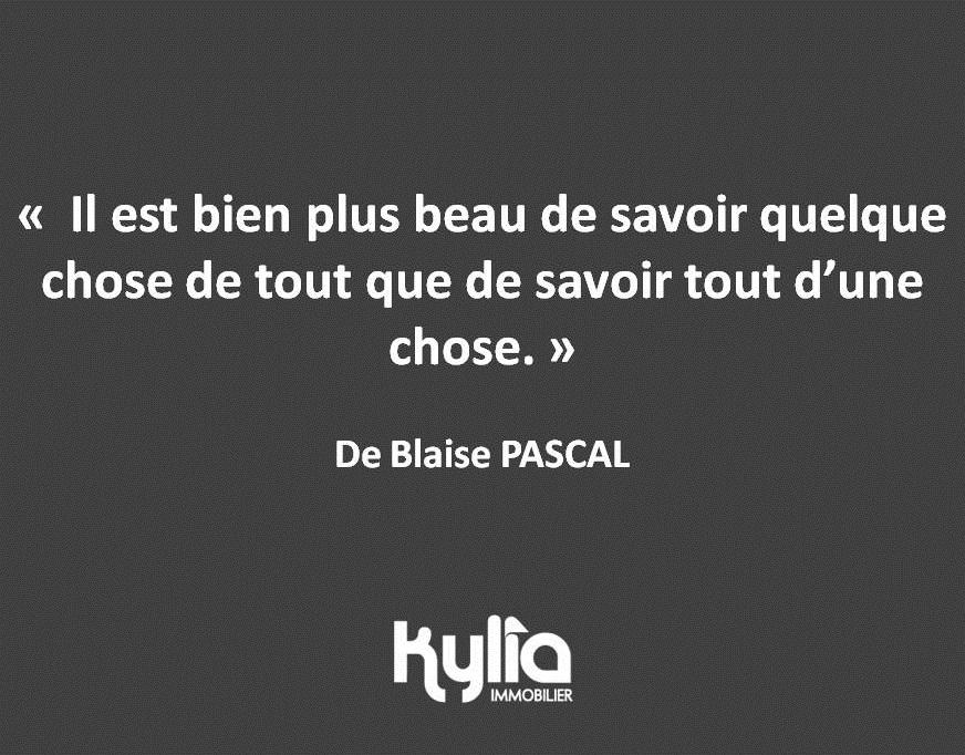 Citation 27 – Blaise PASCAL